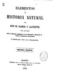 Biblioteca Hispanica : Elements of Natur... by Ramos and Lafuente, M.